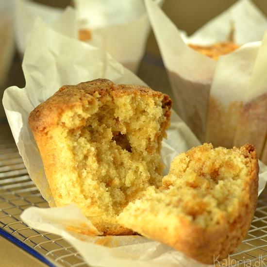 Sprøde saftige muffins