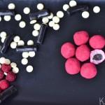 Hindbær trøfler
