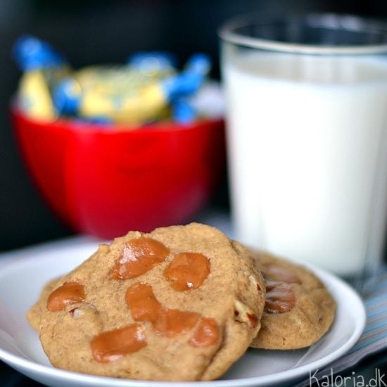 cookies med karamel