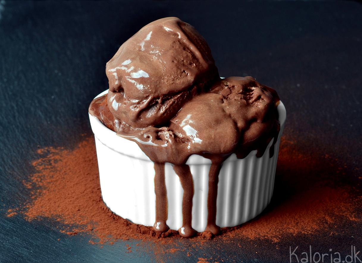 hjemmelavet chokoladeis opskrift