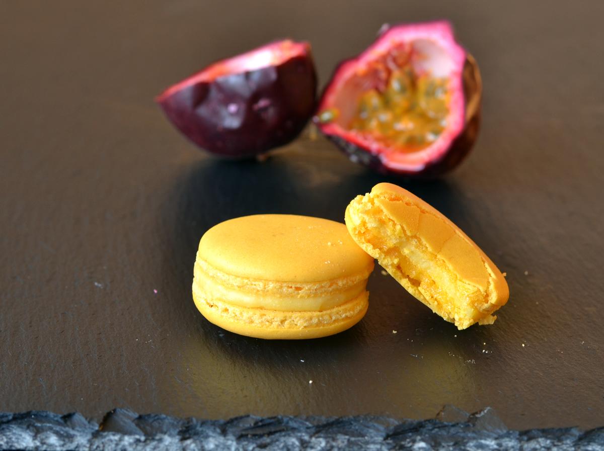 passionfruit ganache macarons recipe